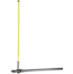 """Yakima Safety Pole Kit Brand New Includes Limited Lifetime Warranty, The Yakima Safety Pole Kit is a 40"""" tall, bright yellow fiberglass pole that makes your low-sitting trailer more visible at all times"